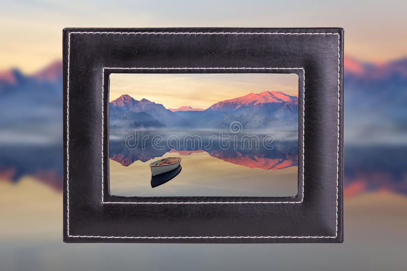 Landschapsfoto royalty-vrije stock foto