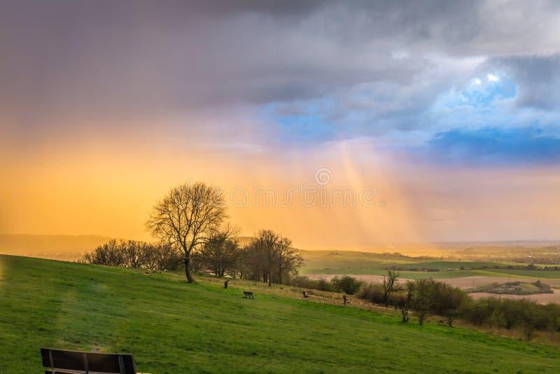 Landschapsfotografie royalty-vrije stock foto