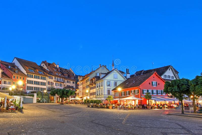 Landsgemeinde square, Zug, Switzerland royalty free stock photo