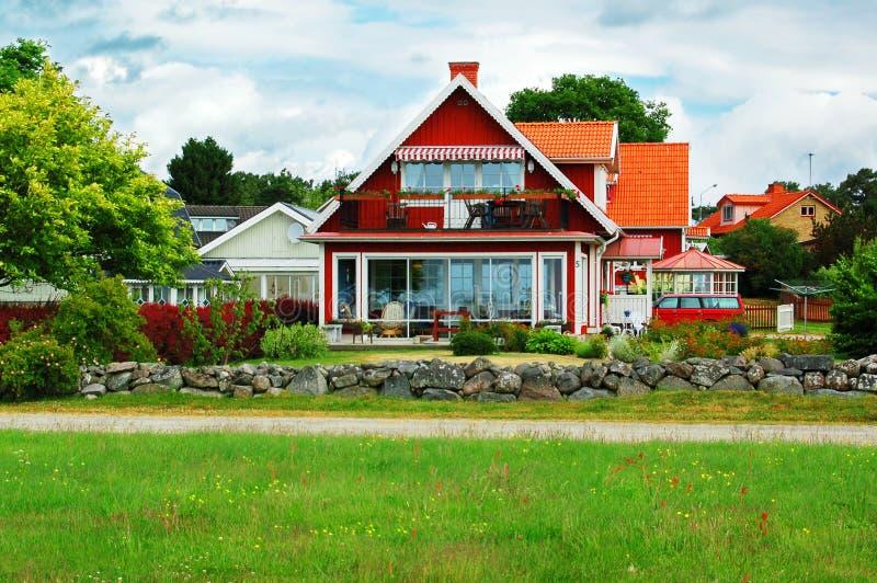 landshus fotografering för bildbyråer