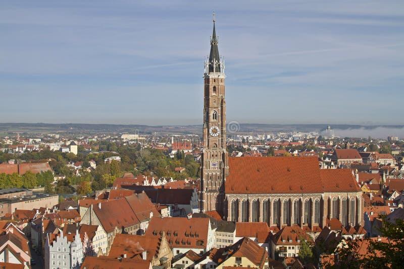 Landshut royalty-vrije stock afbeeldingen