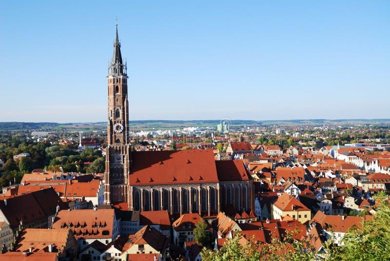 Landshut photographie stock libre de droits