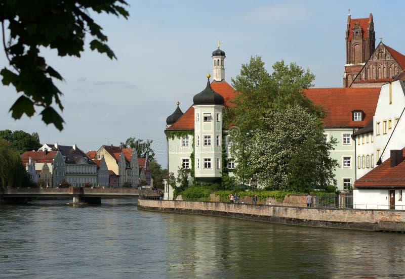 Landshut royaltyfria foton