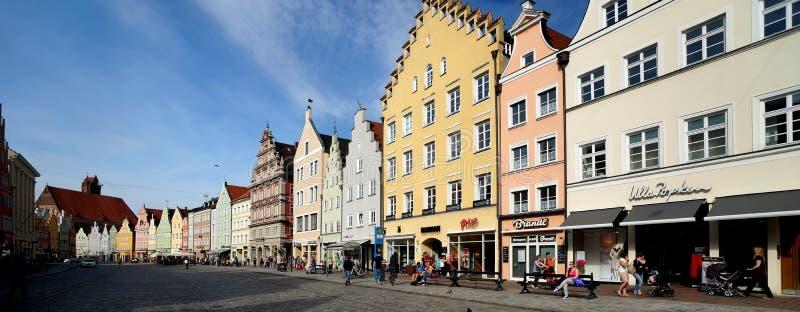 Landshut стоковое фото rf