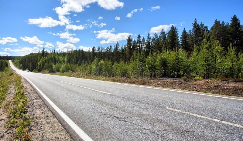 Landshuvudväg royaltyfri foto