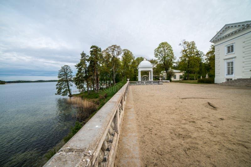 Landsitz nahe Trakai, lizenzfreie stockfotos
