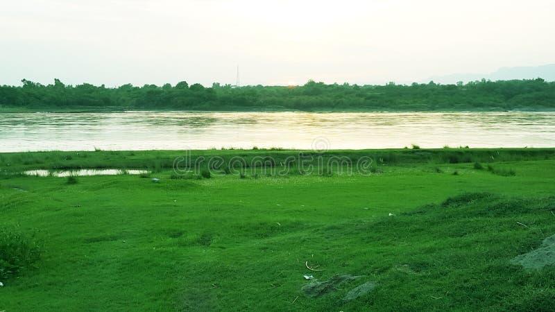 Landskap Abatabad royaltyfria foton
