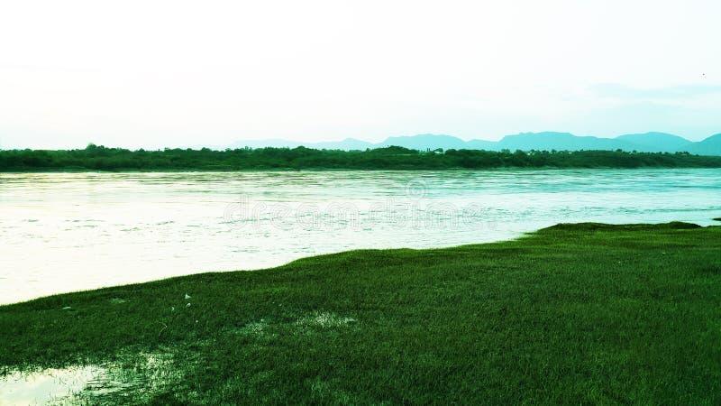 Landskap Abatabad royaltyfri foto