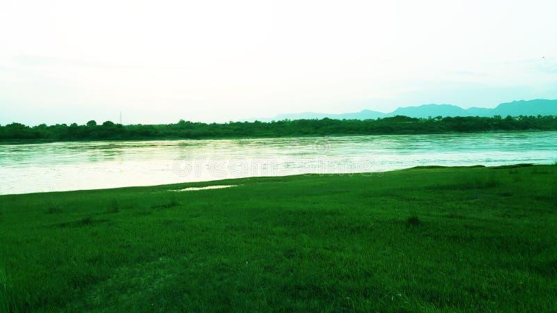 Landskap Abatabad royaltyfria bilder