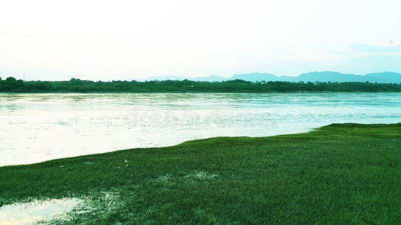 Landskap Abatabad arkivfoto