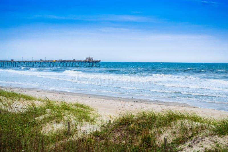 Landskap av Atlanticet Ocean fotografering för bildbyråer