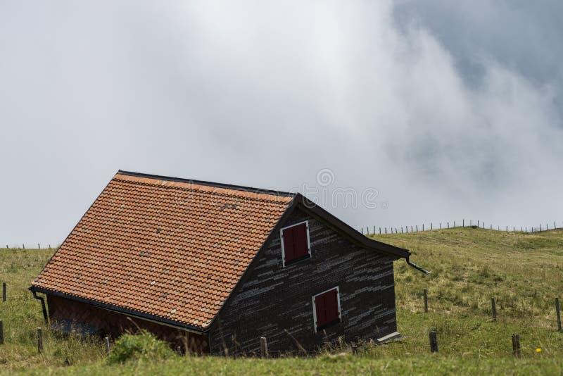Landskap av berget fotografering för bildbyråer