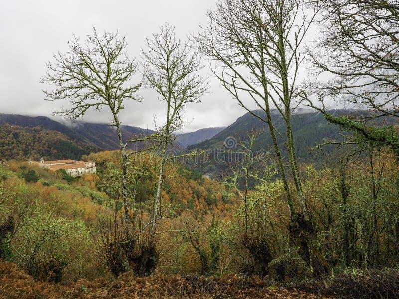 Landskap av de Ribeira sacrana royaltyfria bilder