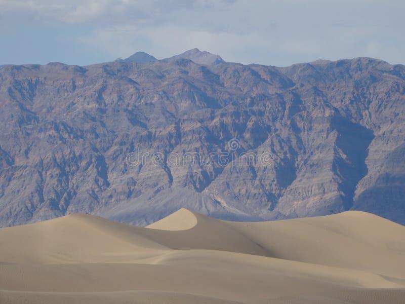 Landskap av Death Valley royaltyfria foton