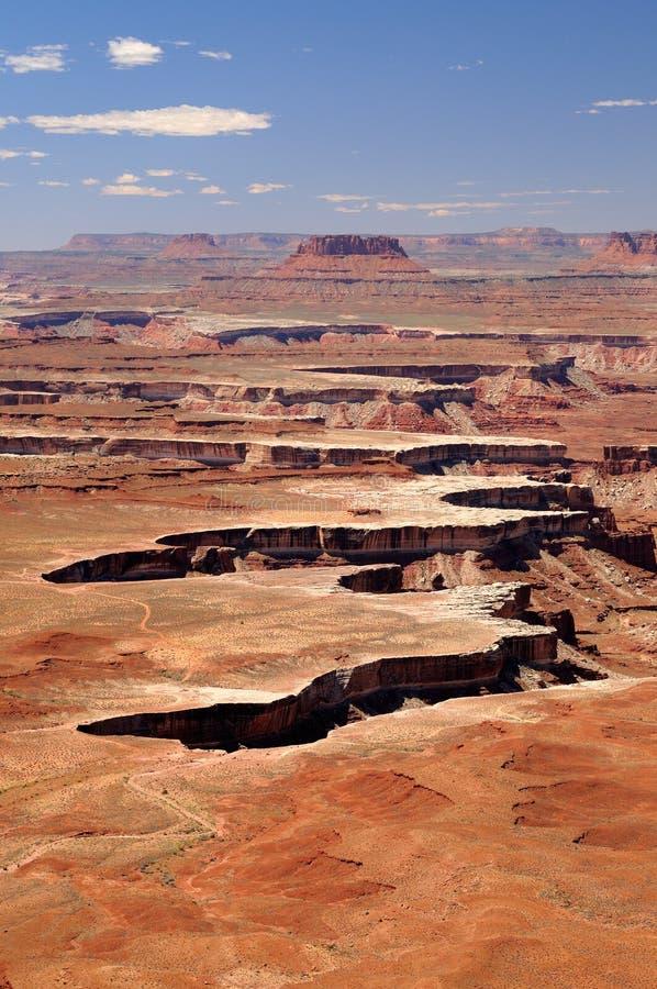 Landskap av den Canyonlands nationalparken, Utah royaltyfri foto