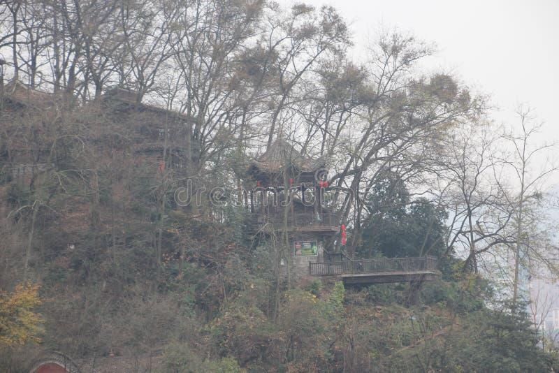 Landskap av Fenghuang i Hunan, Kina Flod som är exotisk arkivfoto