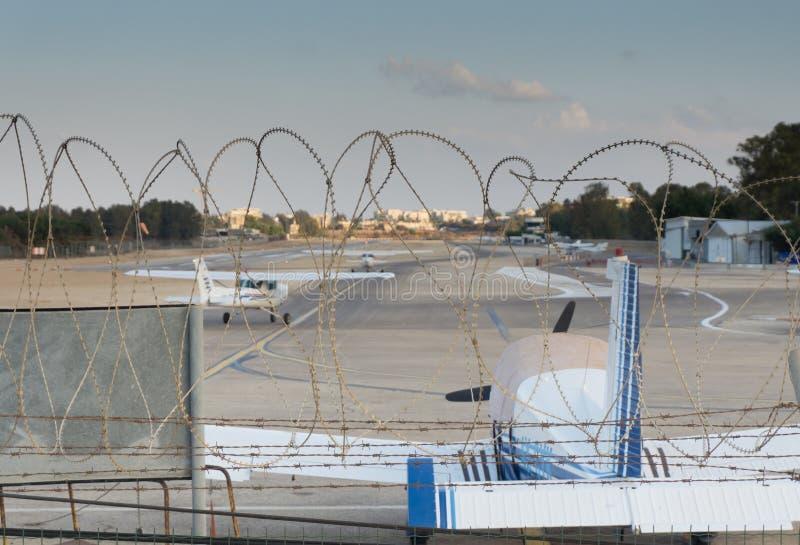 Landskap av Herzlia arkivfoto