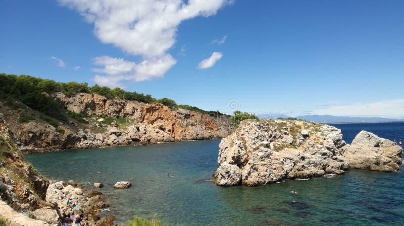 Landskap av Illa Matteua arkivbild