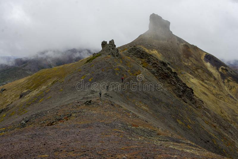Landskap av Kolyma, Syberia royaltyfri fotografi