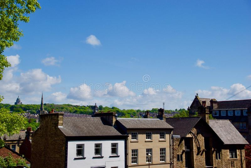 Landskap av Lancaster royaltyfri foto
