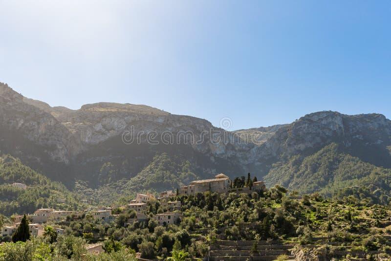 Landskap av Mallorca arkivbild