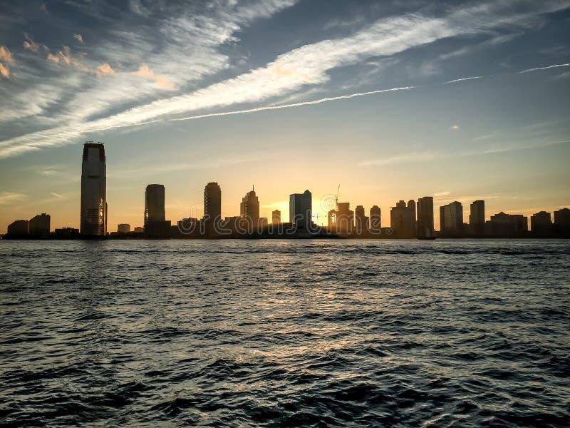 Landskap av New York royaltyfria bilder