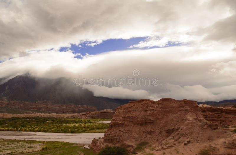 Landskap av Northem Argentina royaltyfria foton