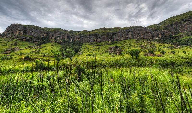 Landskap av reserven för jätteslottlek royaltyfri foto