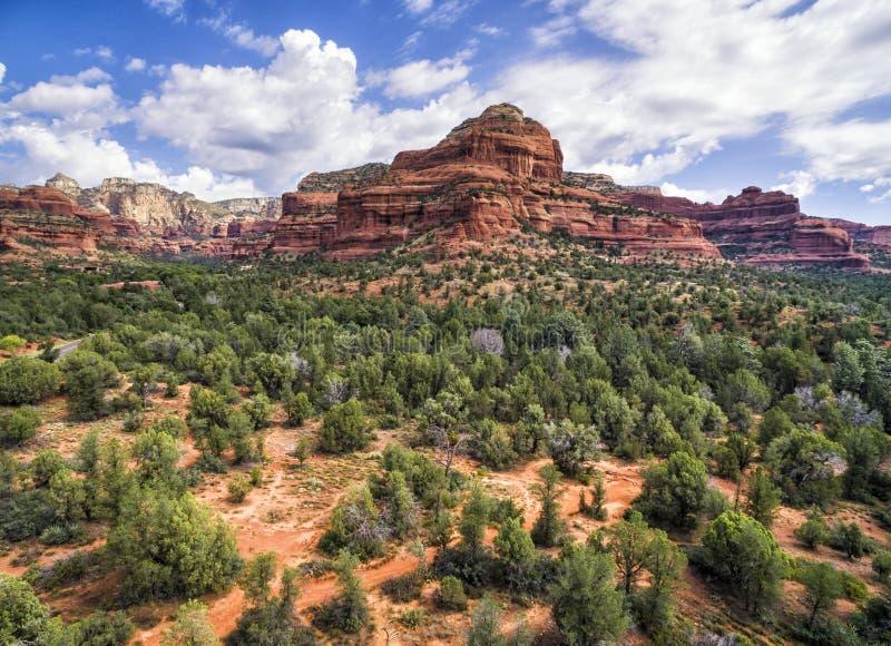 Landskap av Sedona, Arizona, USA arkivbilder