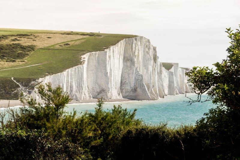 Landskap av sju systerklippor royaltyfri foto