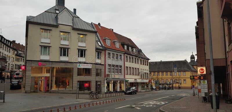 Landskap av staden royaltyfria foton
