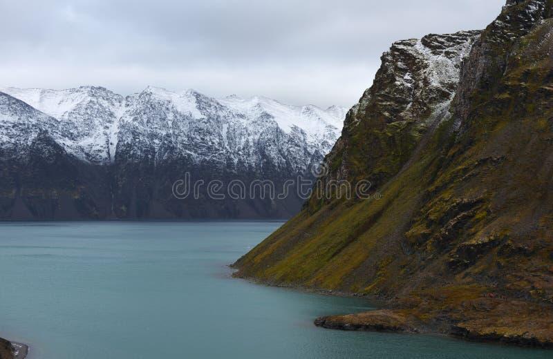 Landskap av Svalbard/Spitsbergen royaltyfria foton