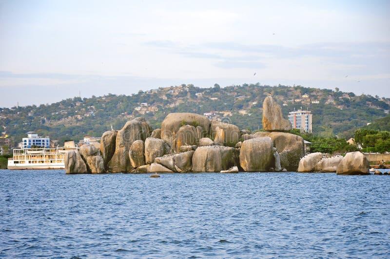 Landskap av Tanzania royaltyfri bild