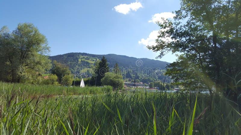 Landskap av Tyskland arkivbild