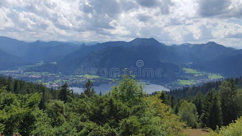 Landskap av Tyskland royaltyfri foto