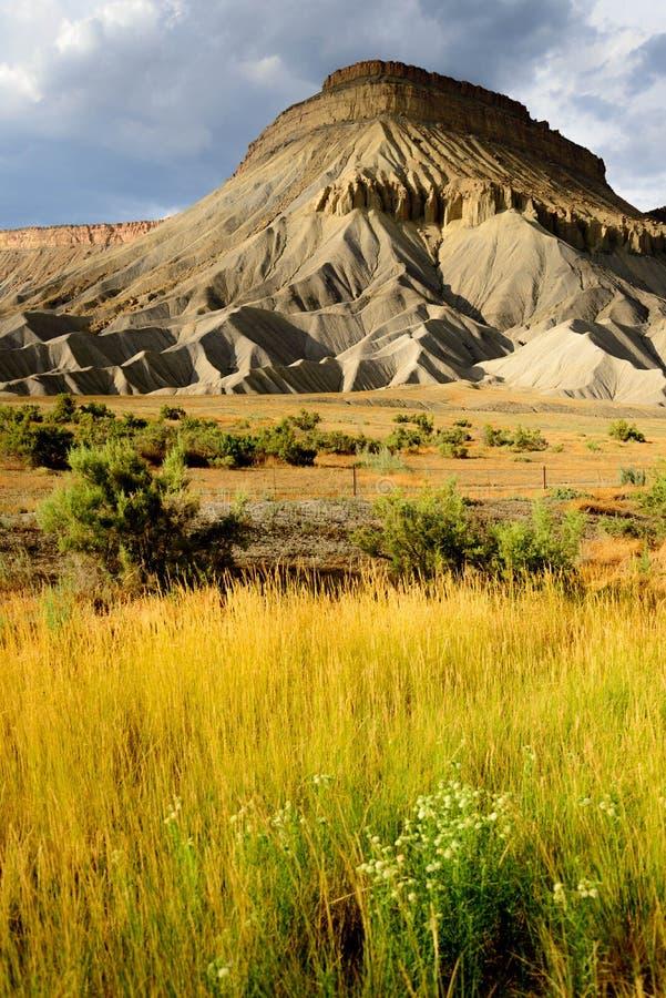 Landskap Colorado för nationell monument royaltyfri foto