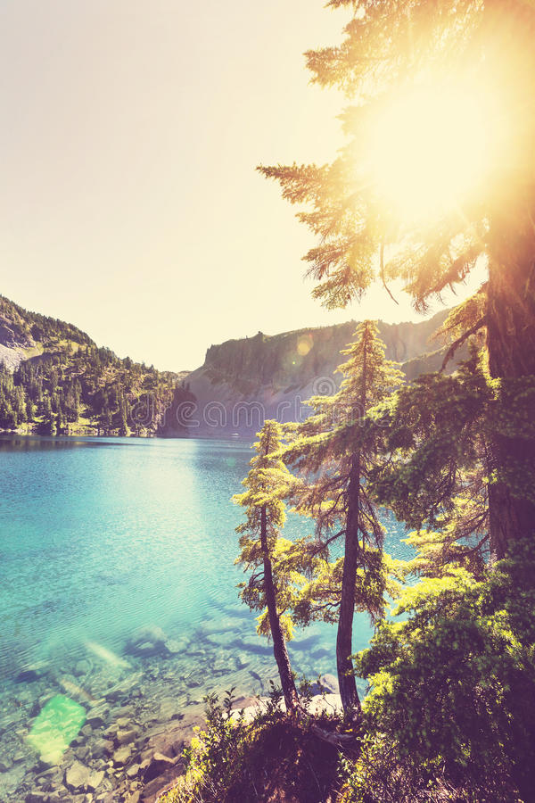 landskap för berg för himalayasladakhlake royaltyfri fotografi