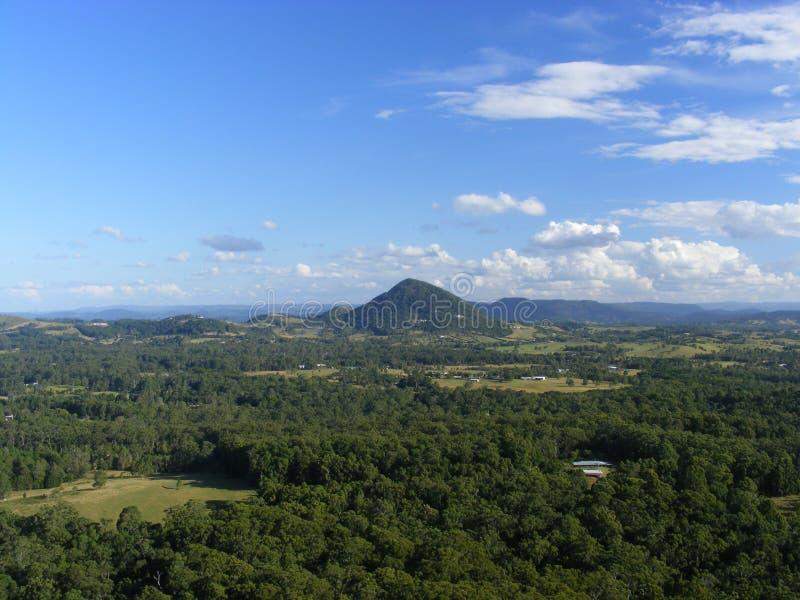Landskap för bergsikt royaltyfria bilder