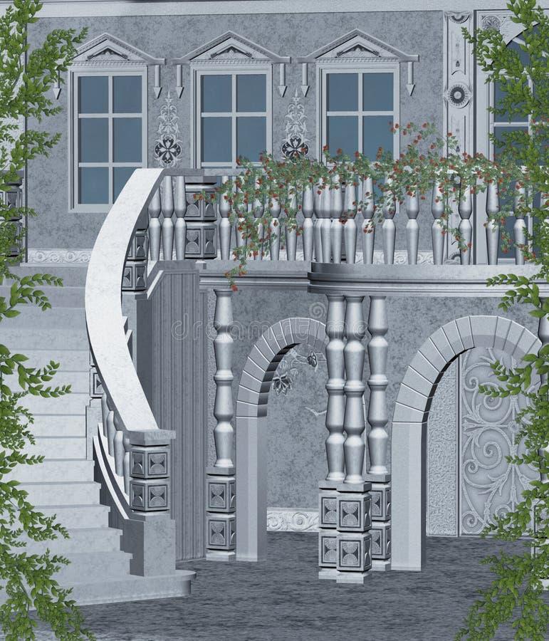 landskap för fantasi 97 vektor illustrationer