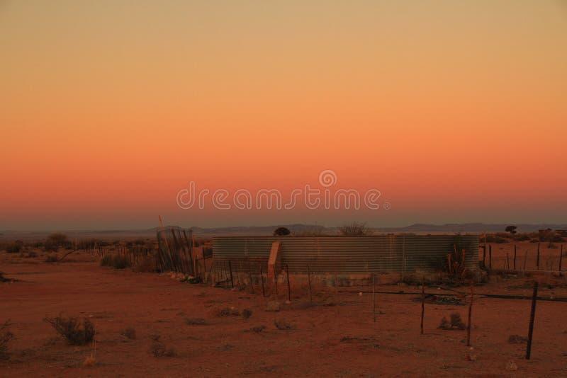 Landskap för landskapNamaqualand nordligt udde Sydafrika royaltyfri fotografi
