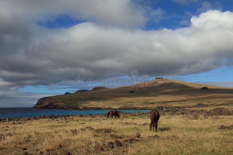Landskap för påskö royaltyfri fotografi