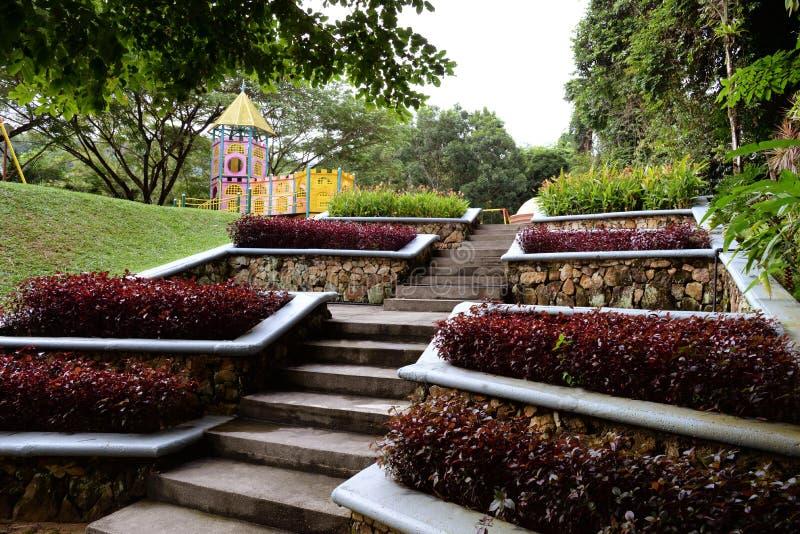 Landskap för trädgårdar arkivfoton