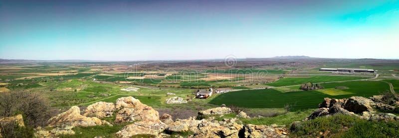 landskap från & x22; Cabile& x22; fästning royaltyfri fotografi