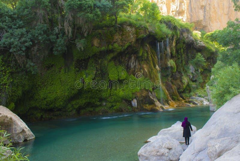 Landskap från Iran arkivbilder