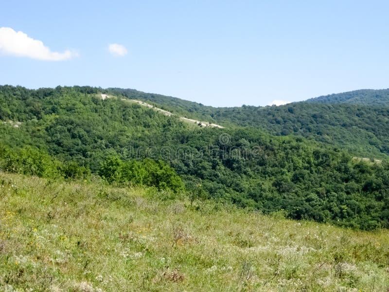 Landskap i berg arkivfoto