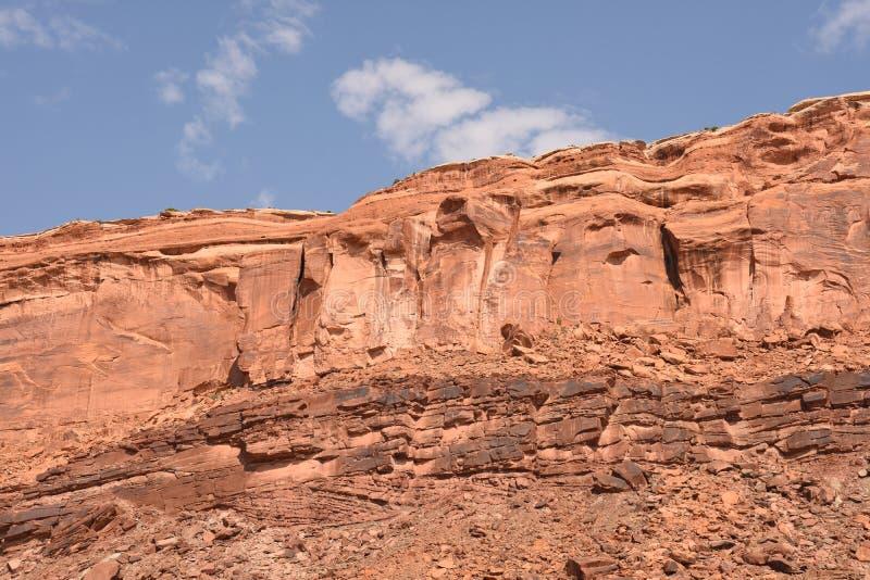 Landskap i den Canyonlands nationalparken royaltyfri foto