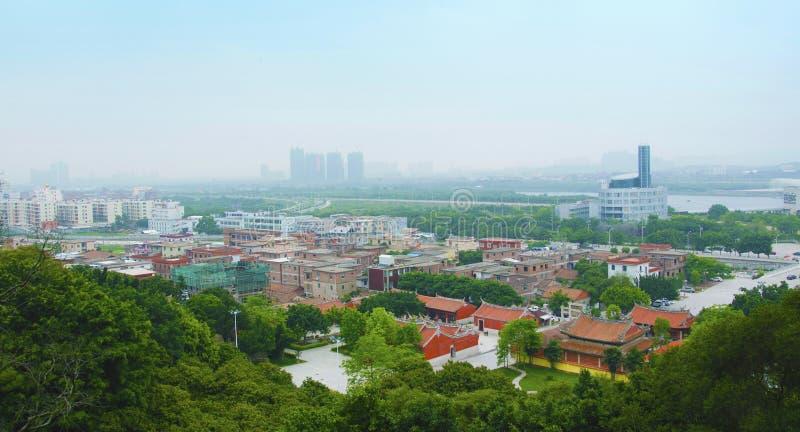 landskap i Kina arkivbild
