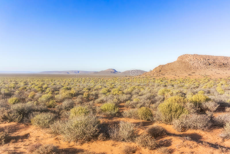 Landskap i nordlig udde, Sydafrika arkivbild
