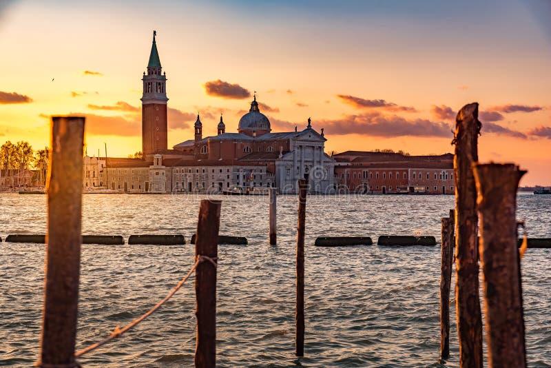 landskap i venice Italien arkivbilder