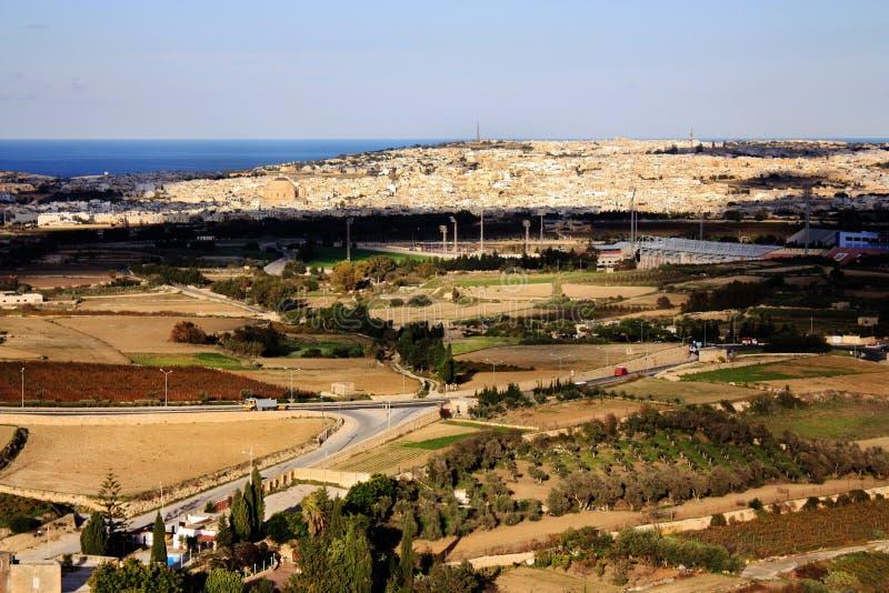 Landskap Malta arkivfoton